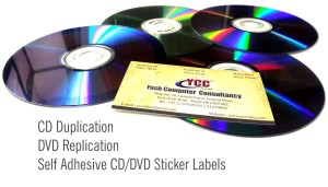 CD Duplication, DVD Replication, Self Adhesive CD/DVDSticker Labels